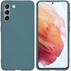 iMoshion Coque Color Samsung Galaxy S21 - Vert foncé
