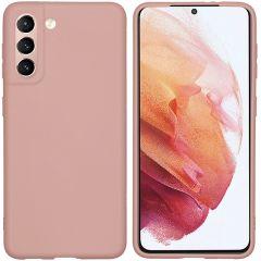 iMoshion Coque Color Samsung Galaxy S21 - Dusty Pink