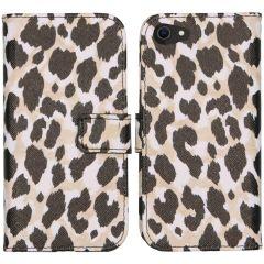 iMoshion Coque silicone design iPhone SE (2020) / 8 / 7 - Golden Leopard