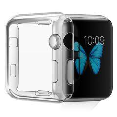 iMoshion Coque silicone + protecteur d'écran Apple Watch 1-3 42mm