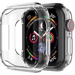 iMoshion Coque silicone + protecteur d'écran Apple Watch 4-6/SE 44mm
