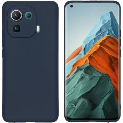 iMoshion Coque Color Xiaomi Mi 11 Pro - Bleu foncé