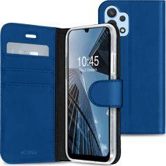 Accezz Étui de téléphone Wallet Galaxy A32 (4G) - Bleu foncé