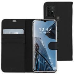 Accezz Étui de téléphone Wallet Motorola Moto G30 / G20 / G10 (Power) - Noir