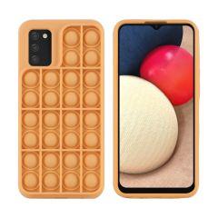 iMoshion Pop It Fidget Toy - Coque Pop It Galaxy A02s - Dorée