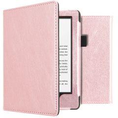 iMoshion Étui de liseuse en cuir végan Amazon Kindle 10 - Rose