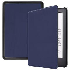 iMoshion Coque à rabat Slim Hard Amazon Kindle 10 - Bleu foncé