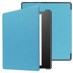 iMoshion Coque à rabat Slim Hard Amazon Kindle Oasis 3 - Bleu clair