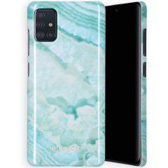 Selencia Coque Maya Fashion Samsung Galaxy A71 - Agate Turquoise