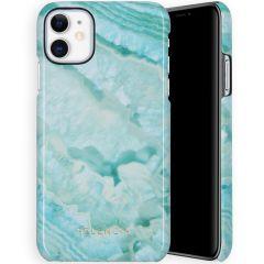 Selencia Coque Maya Fashion iPhone 11 - Agate Turquoise