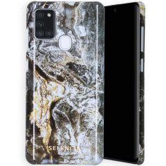 Selencia Coque Maya Fashion Samsung Galaxy A21s - Quartz Black