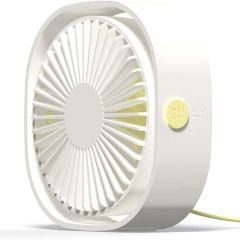 iMoshion Ventilateur de bureau USB - Blanc