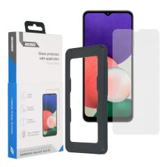 Accezz Protection d'écran Glass + Applicateur Samsung Galaxy A22 (5G)