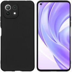 iMoshion Coque Color Xiaomi Mi 11 Lite (5G) / Mi 11 Lite (4G) - Noir