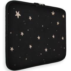 iMoshion Universele Design Sleeve 13 pouces - Stars Gold