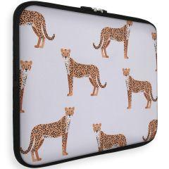 iMoshion Universele Design Sleeve 15 pouces - Cheetah