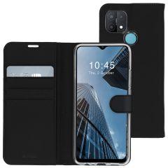 Accezz Étui de téléphone Wallet Oppo A15 - Noir