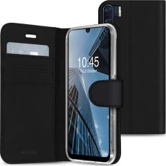 Accezz Étui de téléphone portefeuille Wallet Oppo A91 / Reno 3 - Noir