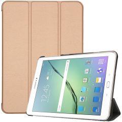 iMoshion Étui de tablette Trifold Galaxy Tab S2 9.7 - Dorée