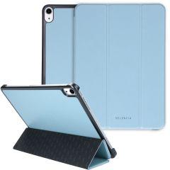 Selencia Coque en cuir vegan Nuria Trifold Book iPad Air (2020)