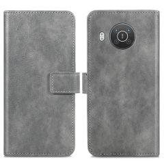 iMoshion Étui de téléphone portefeuille Luxe Nokia X10 / X20 - Gris