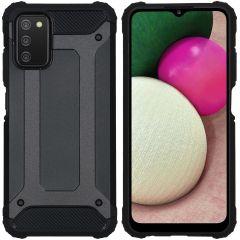 iMoshion Coque Rugged Xtreme Samsung Galaxy A03s - Noir