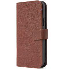 Decoded Portefeuille détachable 2 en 1 en cuir iPhone 13 Mini - Brun