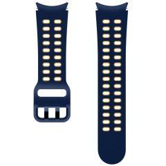 Samsung Bracelet Sport Extreme S/M Galaxy Watch / Watch 3 / Watch 4 / Active 2 / Classic 4 : 40-41-42-44mm - Bleu