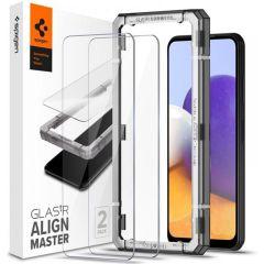 Spigen Protection d'écran AlignMaster Cover 2 Pack Samsung Galaxy A22 (5G)