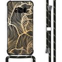 iMoshion Coque Design avec cordon Samsung Galaxy S8 - Feuilles