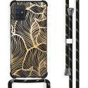 iMoshion Coque Design avec cordon Samsung Galaxy A71 - Feuilles
